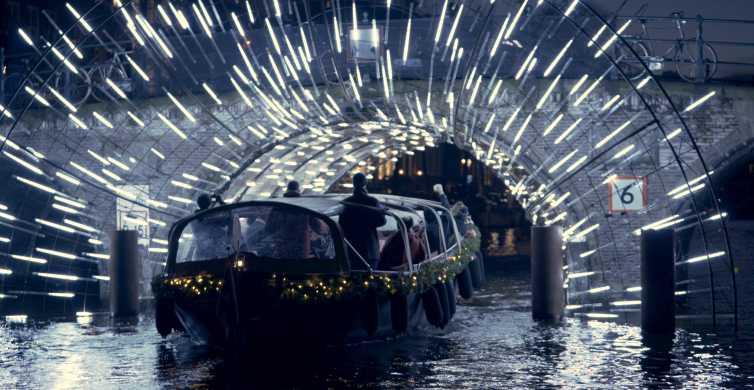 Amsterdam: Light Festival Luxury Canal Cruise