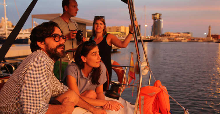 Barcelona: 2-Hour Sunset Sailing Experience