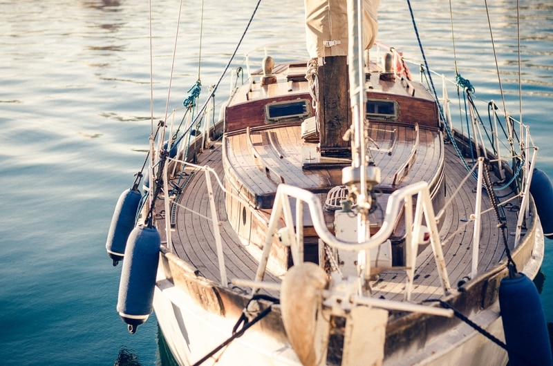 boat in malaga