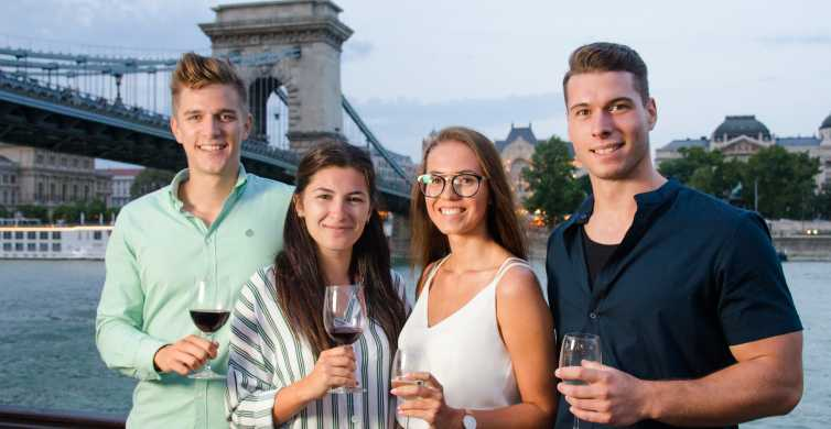 Budapest: 2-Hour Cruise with Hungarian Dinner on the Danube