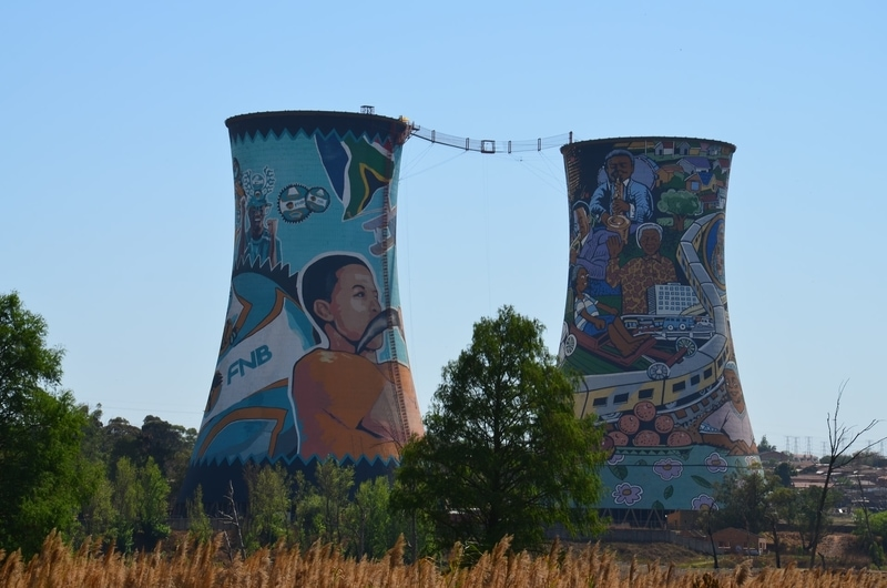 bungee jumping towers soweto, south africa