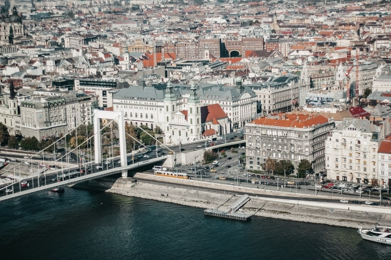 Danube River Budapest, HUngary