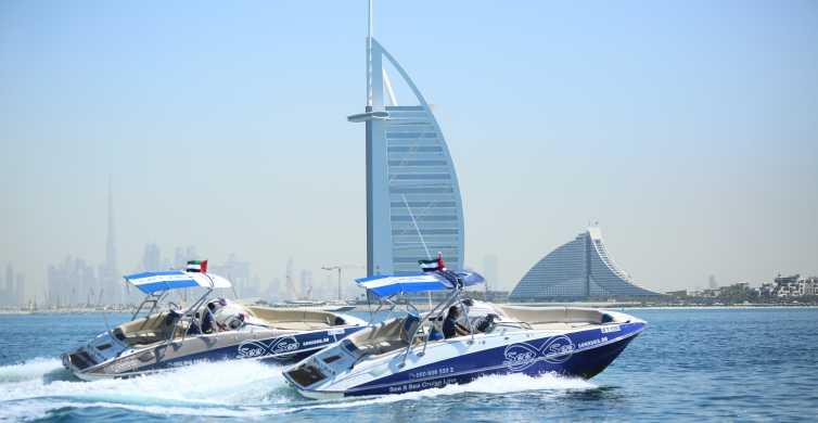 Dubai Marina Private Boat Tour & Palm Jumeirah Sightseeing