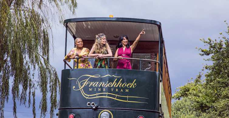 From Cape Town: Hop-on Hop-off Franschhoek Wine Tram