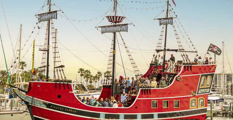 From Orlando: Clearwater Beach Pirate Cruise with Lunch