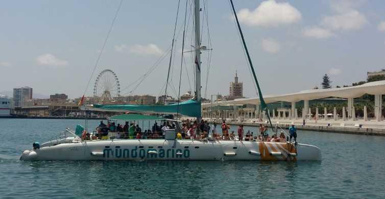 Malaga: Bay Catamaran Cruise