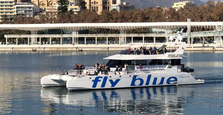 Malaga: Catamaran Trip with Optional Stop for Swimming