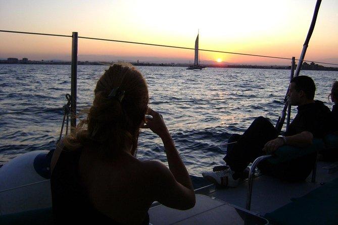 Malaga Sunset Cruise and Restaurant Dinner