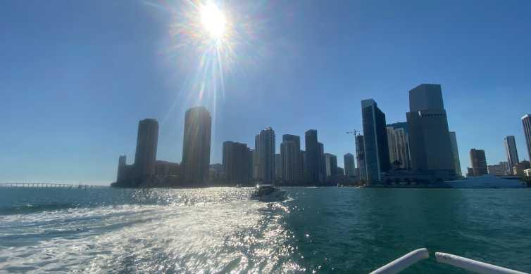 Miami Skyline: Happy Hour Sightseeing Sunset Cruise