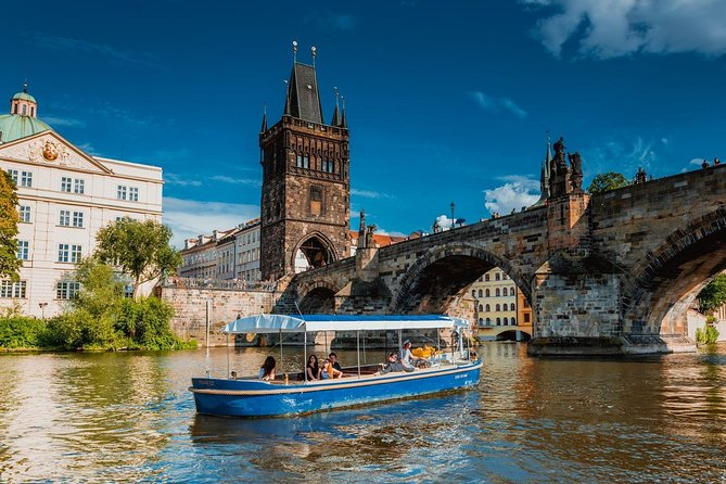 Prague Boats 1-hour Devil's Channel Cruise