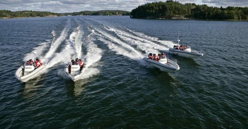 Stockholm Speedboat Tour