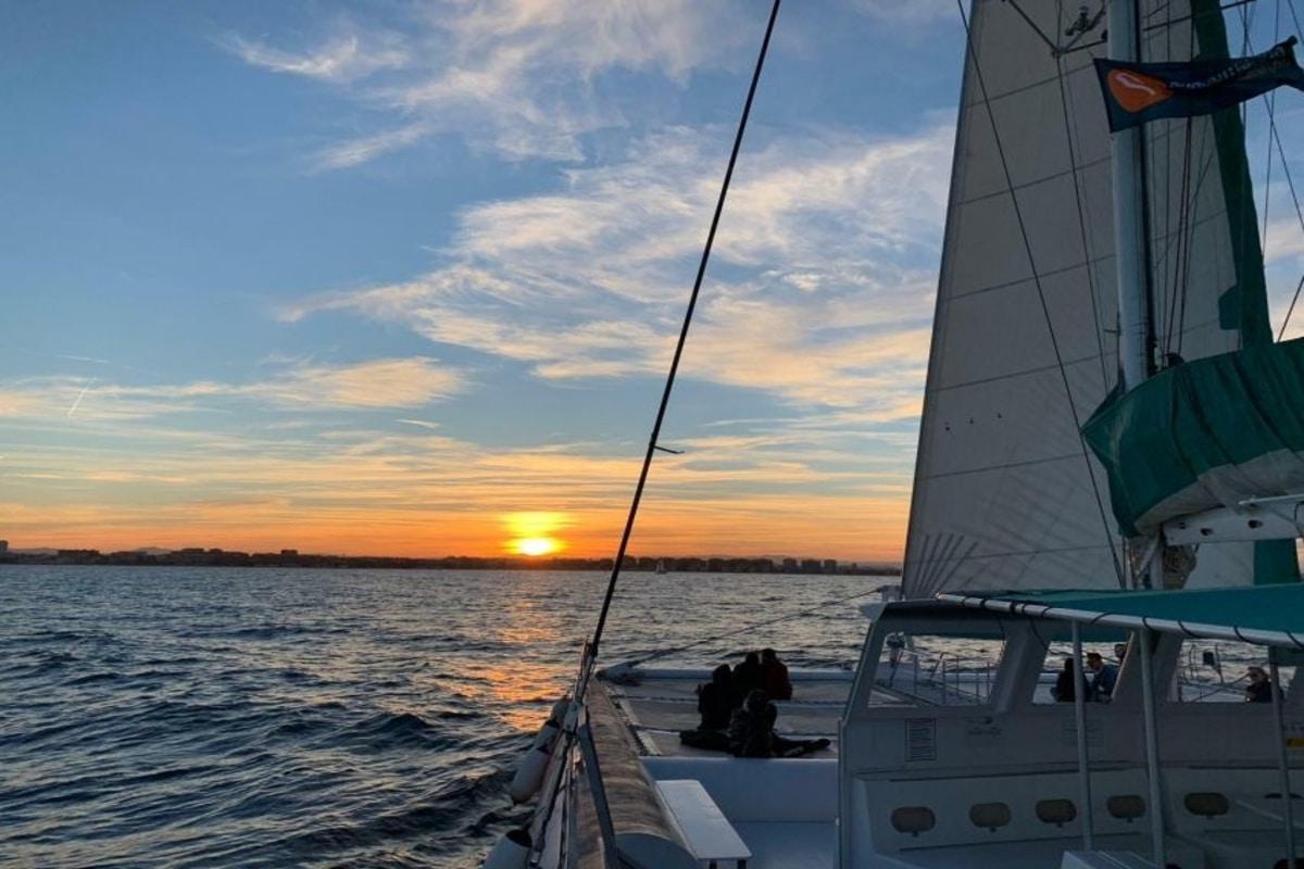 sunset boat trip malaga