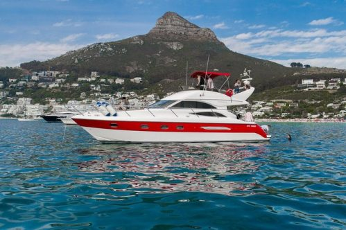 Clifton Shores Private Luxury Yacht Cruise from Cape Town