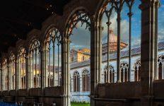 Camposanto Monumentale arches