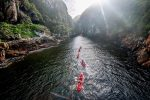 Kayak and Lilo Adventure into Storms River Gorge