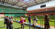 Milan: San Siro Stadium and Casa Milan with Sightseeing Bus