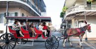 New Orleans: 1-Hour Carriage Ride Through the French Quarter