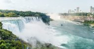 Niagara Falls Day Trip by Air from New York City
