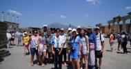 Pompeii: Full-Day Ruins & Vesuvius Group Tour from Sorrento