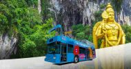 Shared Shuttle Bus Transfers between Batu Caves and Kuala Lumpur...