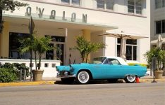 Vintage car in Miami